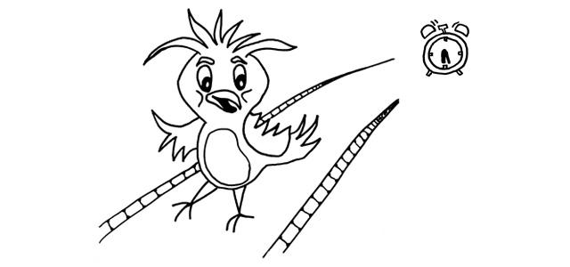 Ranné vtáča doskáče ďalej