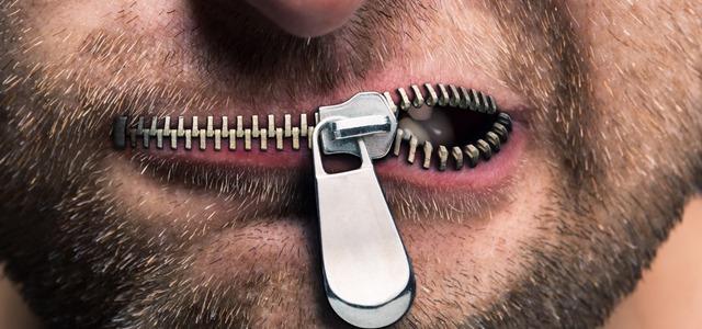 prestaňte hovoriť